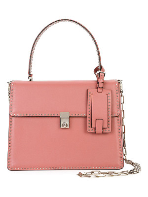 VALENTINO Rockstud Top-Handle Satchel Bag
