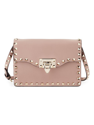 VALENTINO Small Rockstud Flap Crossbody Bag