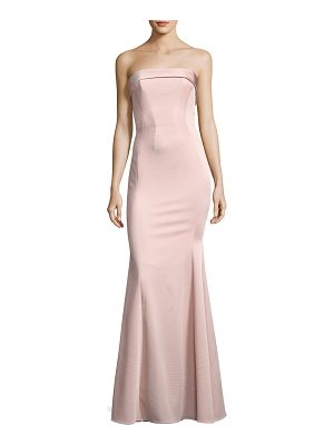 Zac Zac Posen Malena Strapless Trumpet Evening Gown