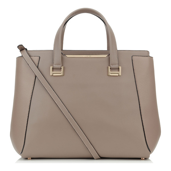 JIMMY CHOO Alfie l musk soft smooth and soft calf leather tote bag - A classic tote style reworked to create a modern day bag...
