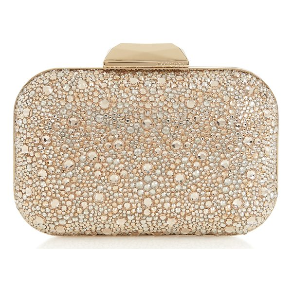JIMMY CHOO CLOUD Golden Mix Crystal Covered Clutch Bag - Layered from top to bottom in luxurious Swarovski crystals,...