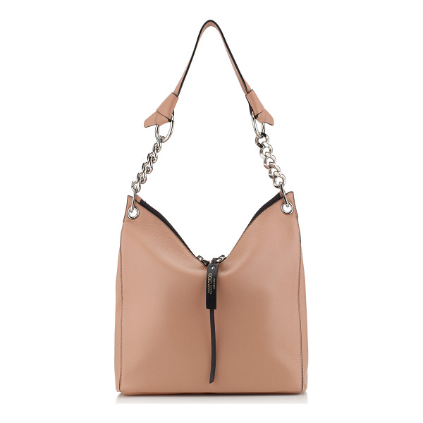 JIMMY CHOO RAVEN/S Ballet Pink Nappa Leather Small Shoulder Bag - An easy to wear and practical small shoulder bag. The...