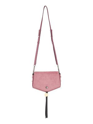Jimmy Choo ARROW Vintage Rose Suede Cross Body Bag