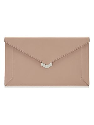 Jimmy Choo LAUREN Ballet Pink Nappa Leather Pouch