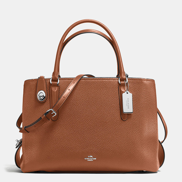 COACH brooklyn carryall 34 - The Brooklyn Carryall is streamlined yet spacious, with a...