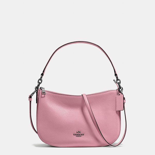 COACH chelsea crossbody - Modern, minimalist Chelsea gets a textural update in our...