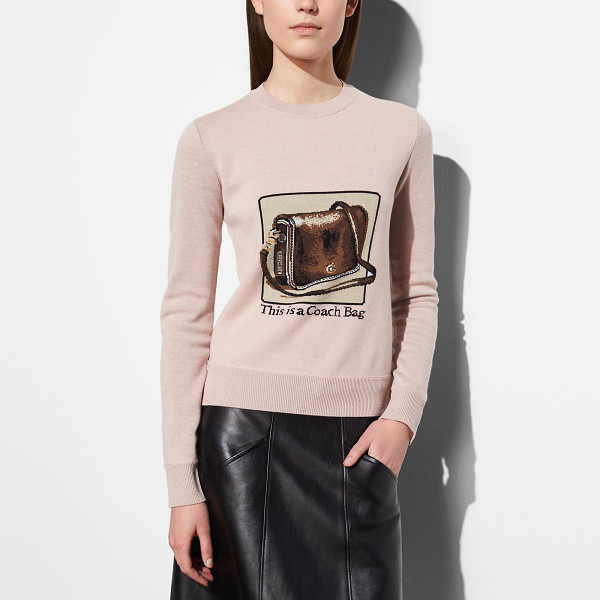 COACH crewneck with archive intarsia - Introducing a limited-edition collection created in...