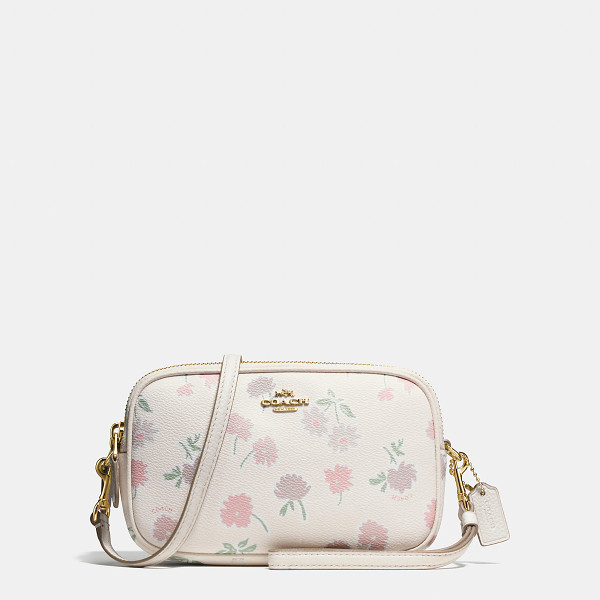 COACH crossbody clutch - For Winter 2016, this charmingly proportioned clutch gets...