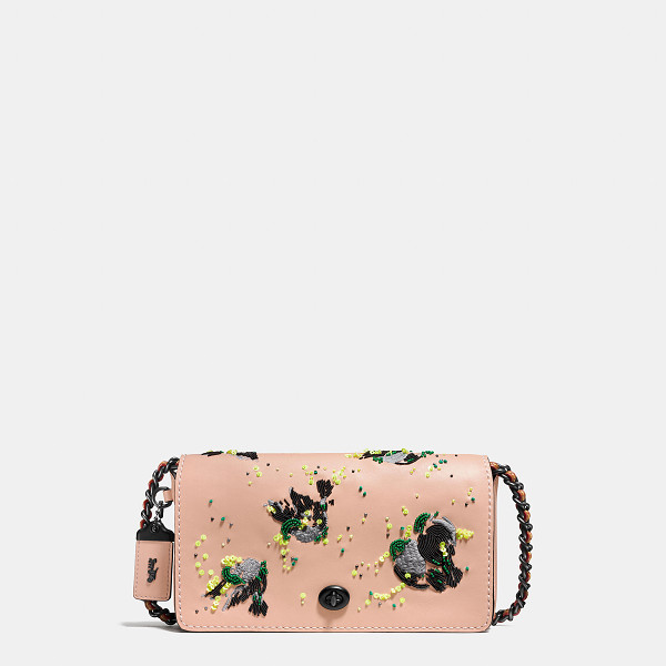 COACH dinky with meadowlark - A re-edition of a 1970s Coach design, the Dinky is a...
