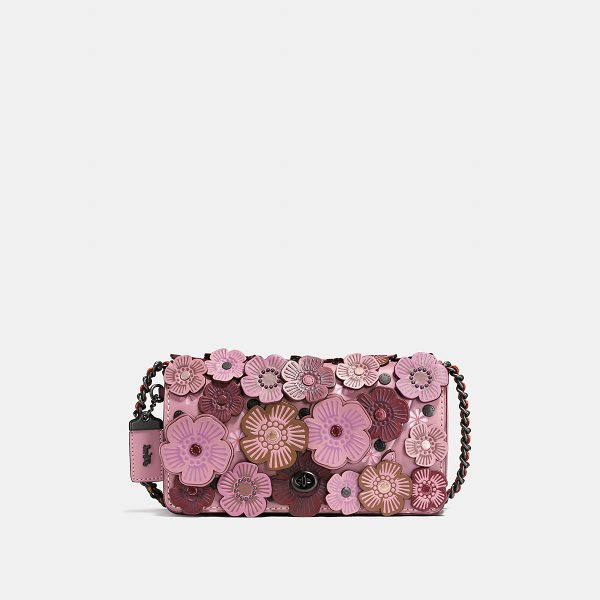 "COACH dinky with tea rose - First introduced in 1973, ""the little bag that could"" (and..."