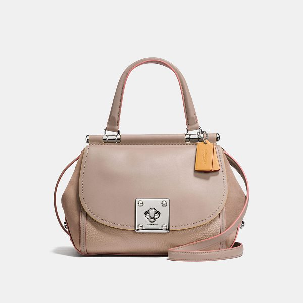COACH drifter top handle - Inspired by an archival Coach design, the Drifter features...