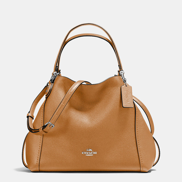 COACH edie shoulder bag 28 - Edie combines downtown ease with utility. Soft and slouchy