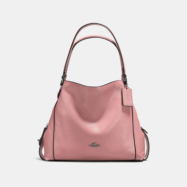 COACH edie shoulder bag 31 - Edie combines downtown ease with utility. Her soft, slouchy...