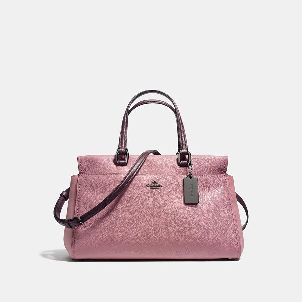 COACH fulton satchel - Named after the historic street in downtown New York City,...
