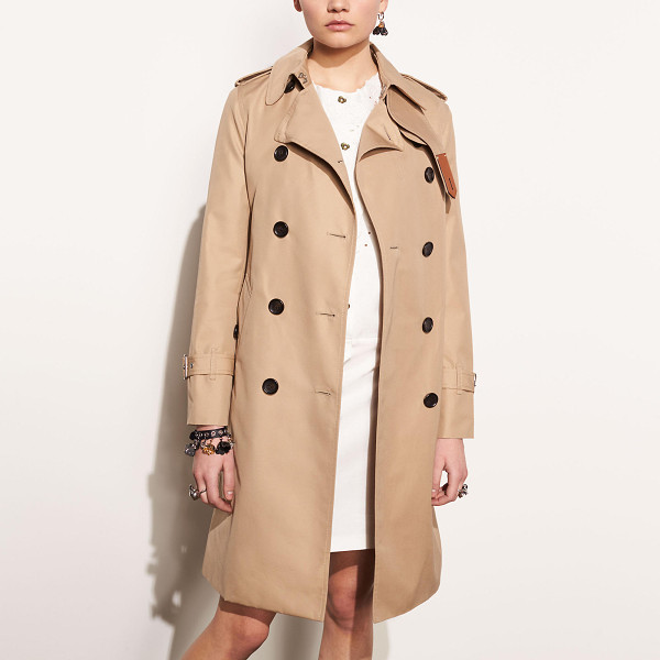COACH icon trench - A military piece turned wardrobe staple, the trench coat is...