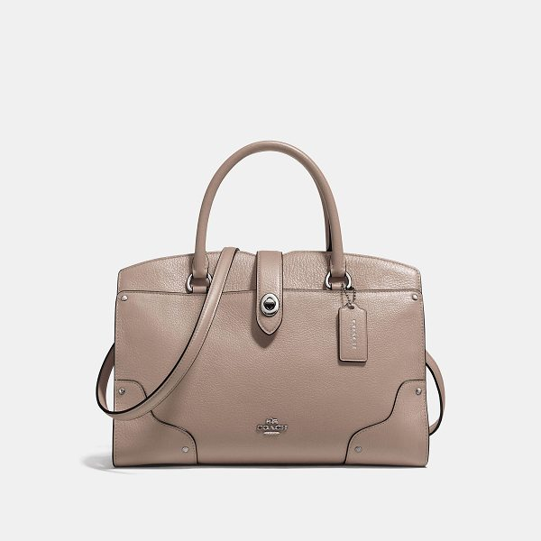 COACH mercer satchel 30 - The Mercer has all the effortless cool of the Soho street...
