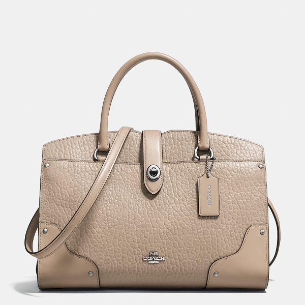 COACH mercer satchel 30 - The Mercer has all the effortless cool of the Soho street
