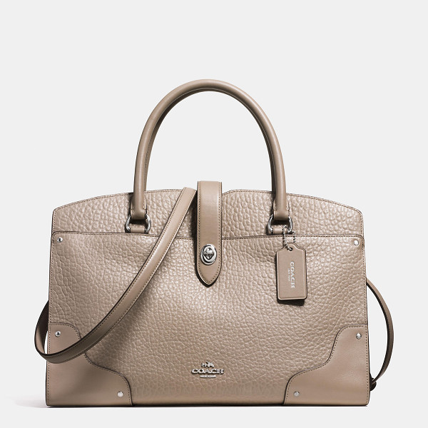 COACH mercer satchel - The Mercer has all the effortless cool of the Soho street...