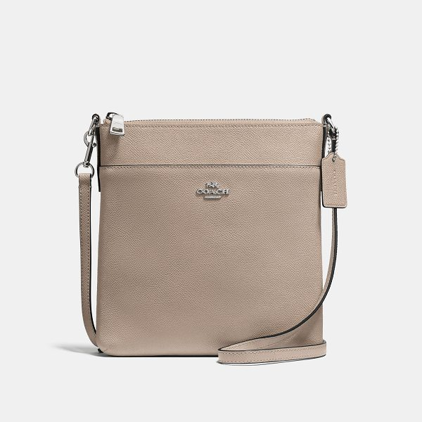 COACH messenger crossbody - Crafted in crossgrain leather, the Courier is a versatile...