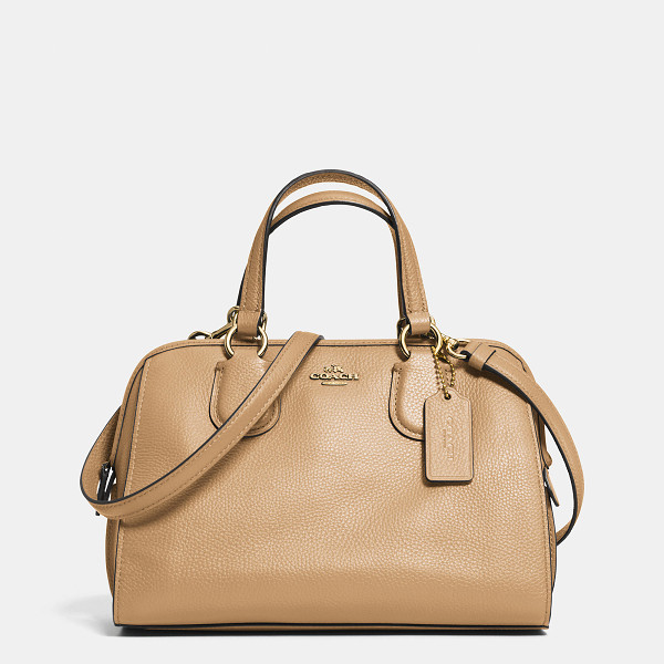 COACH mini nolita satchel - Named for the hip downtown New York neighborhood, the Mini...