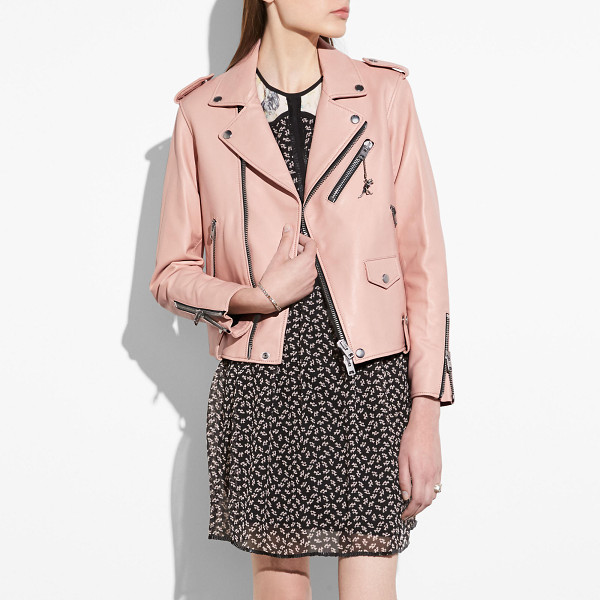 COACH moto jacket - The moto jacket is an iconic Coach silhouette inspired by...