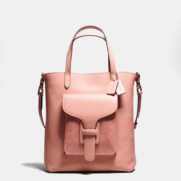 COACH pocket tote - Introducing a limited-edition collection created in...