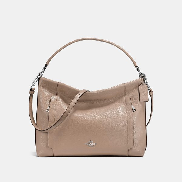 COACH scout hobo - Crafted in polished pebble leather, the soft and slouchy...