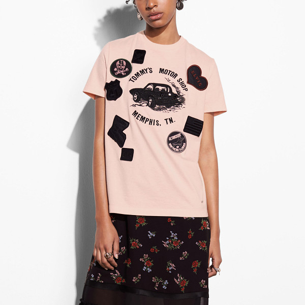 COACH speedster t-shirt - Inspired by 1960s T-shirts Stuart Vevers found in vintage...