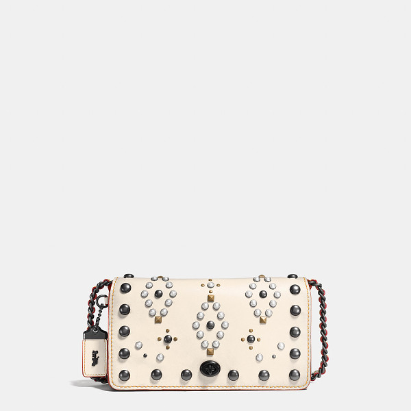 COACH western rivets dinky crossbody - The rivets on this new Dinky are inspired by hardware used...