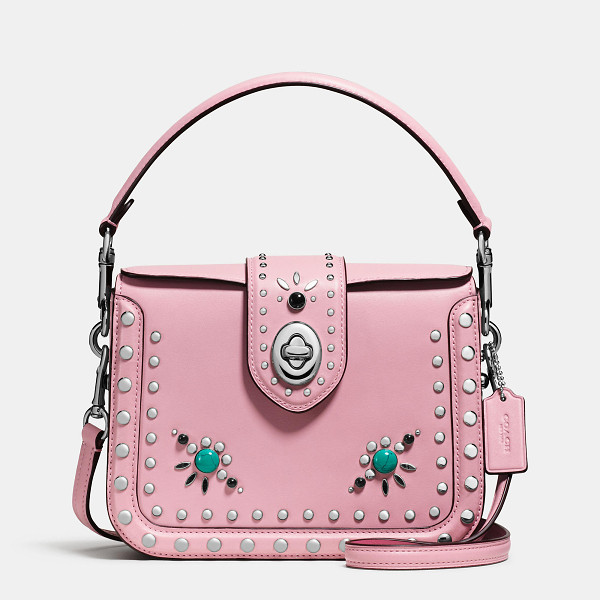 COACH western rivets page crossbody - Detailed with custom-made rivets and studs, our Western...