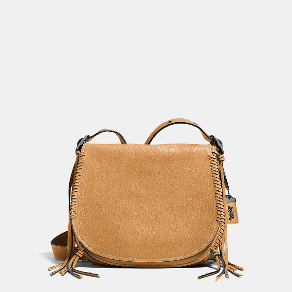 COACH whiplash saddle bag - An iconic Coach design beloved for its simple functionality...
