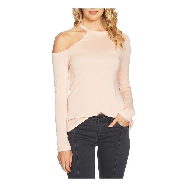 1.STATE cold shoulder top - An exceptionally fine knit drapes the figure as it shows...