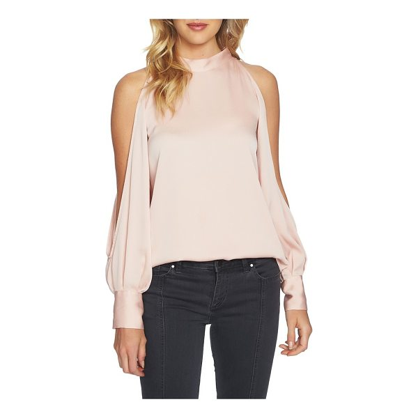 1.STATE cold shoulder top - Flash a little skin in this mock-neck top that transforms...