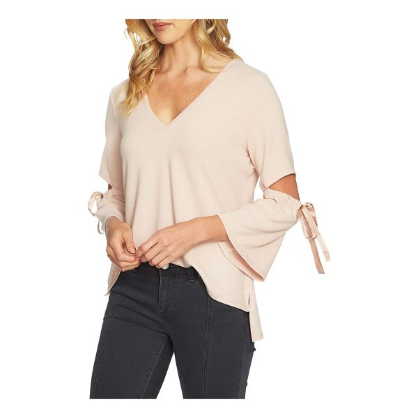 1.STATE cozy slit sleeve top - This statement top is ready for nights out on the town with...