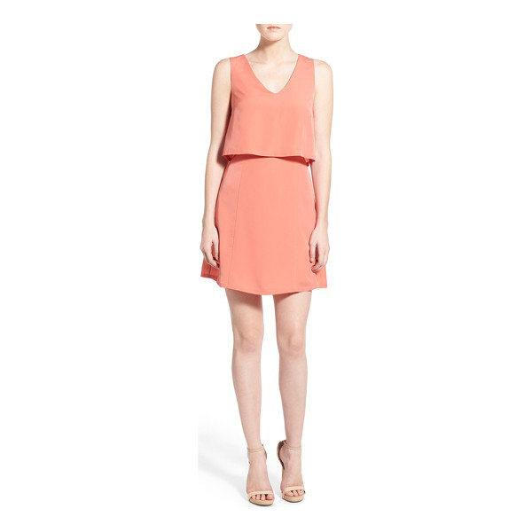1.STATE crepe popover dress - Embrace sweet sunshine and warmer temps in a lightweight...