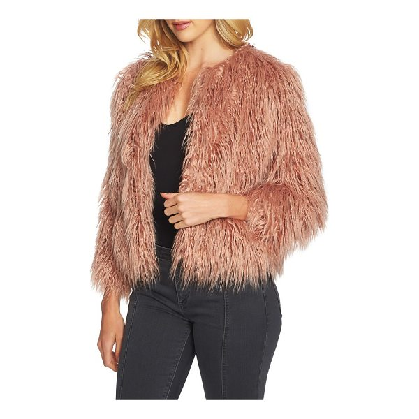 1.STATE crop faux fur jacket - A simple jacket makes the most glamorous topper in...
