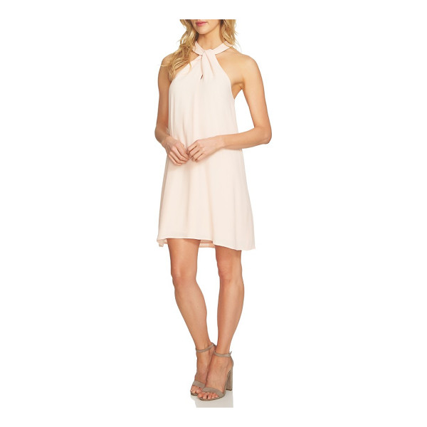 1.STATE halter shift dress - A crisp and breezy shift dress with a twisted halter...