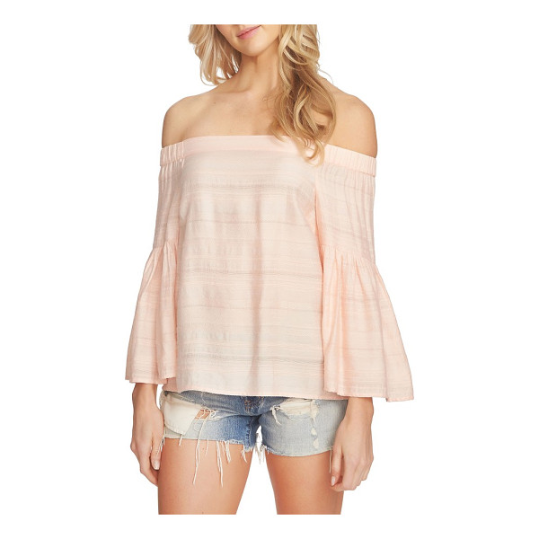 1.STATE off the shoulder blouse - Fluttery, on-trend bell sleeves emphasize the carefree vibe...