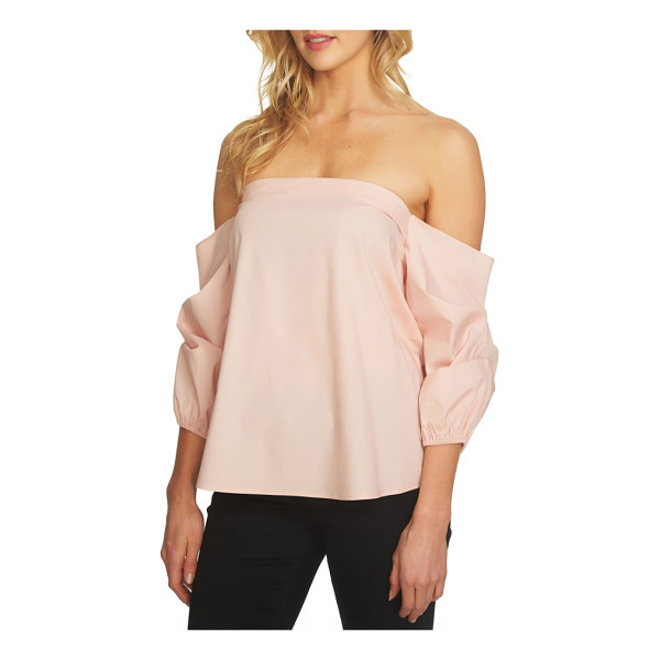1.STATE off the shoulder voluminous blouse - A straight, off-the-shoulder neckline and voluminous...