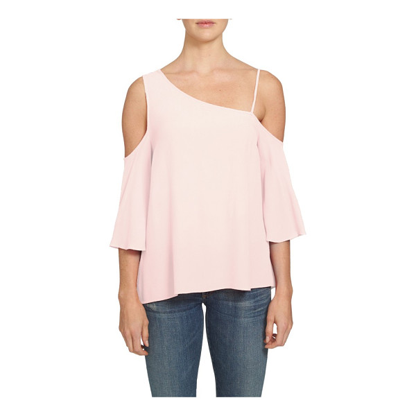 1.STATE one-shoulder top - Designed with a draped silhouette and a single slender...