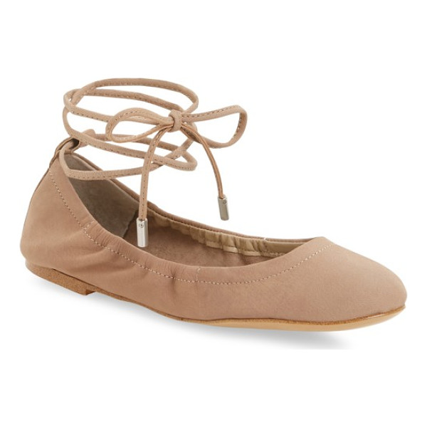 1.STATE skkylar ankle wrap flat - Slender wraparound lacing adds chic, right-on-trend appeal...