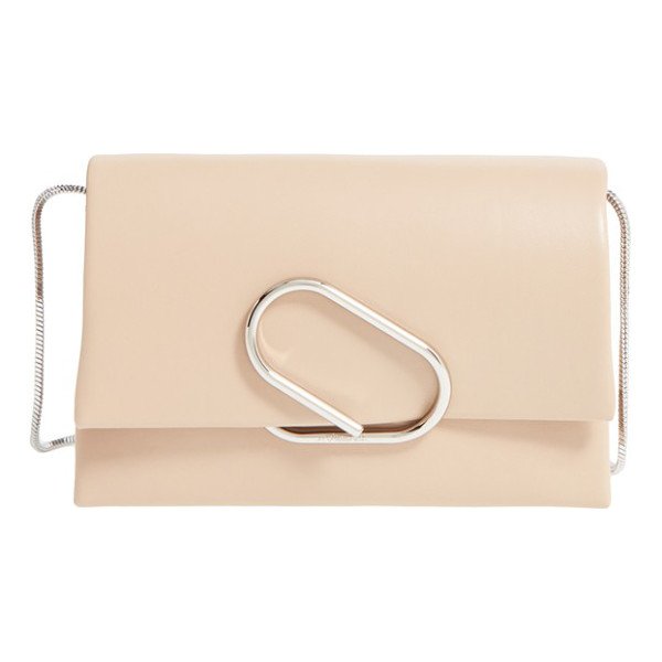 3.1 PHILLIP LIM Alix leather clutch - A modern, clean-lined clutch takes its cues from classic...