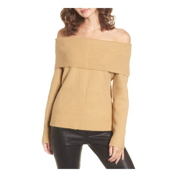4SI3NNA off the shoulder sweater - A shoulder-baring neckline and supersoft fabric make this...