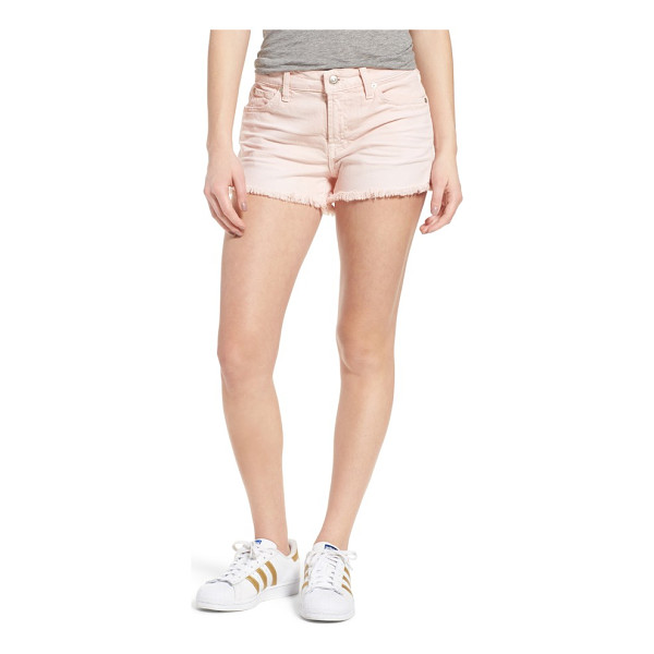 7 FOR ALL MANKIND 7 for all mankind cutoff denim shorts - Soft, stretchy and perfectly worn-in, these colorful shorts...