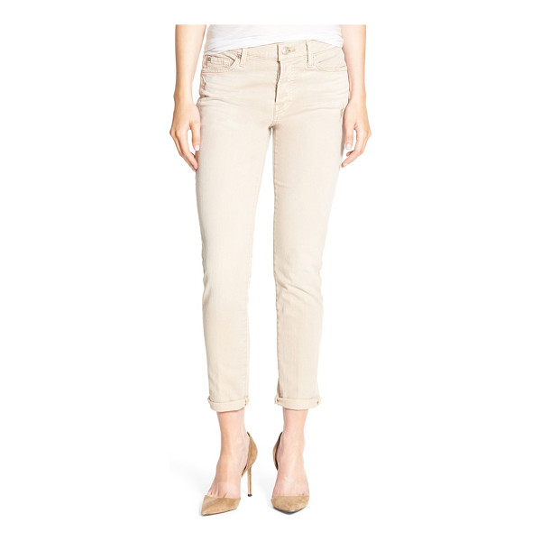 7 FOR ALL MANKIND 7 for all mankind josefina boyfriend jeans - Threadbare patches lend eye-catching detail to boyfriend...