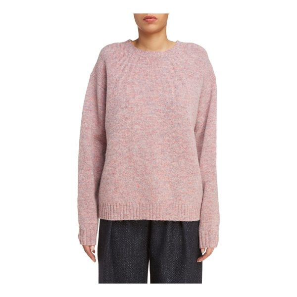 ACNE STUDIOS samara fuller fit sweater - Available in dusty rose or sunny yellow, this stylishly...