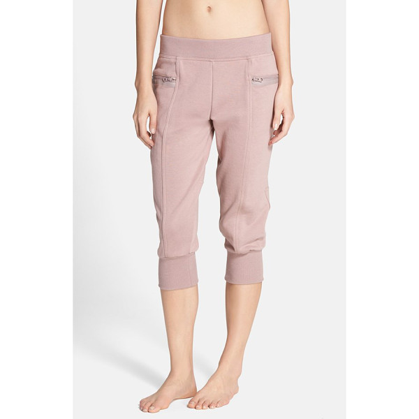 ADIDAS BY STELLA MCCARTNEY ess french terry sweatpants - Tonal matte-polished rubber trim and a paneled construction...