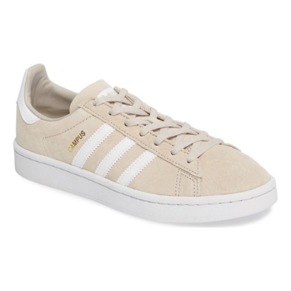 ADIDAS 'campus' sneaker - The iconic tennis shoe is updated in buttery-soft suede and...