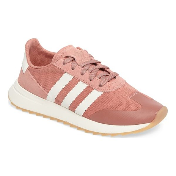 ADIDAS flashback sneaker - An iconic running shoe from the '70s gets a modern makeover...