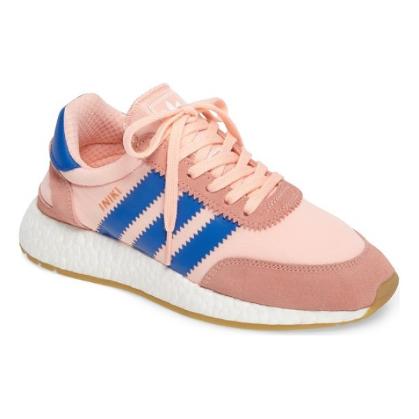 ADIDAS iniki running shoe - Archival style meets modern comfort technology in this...